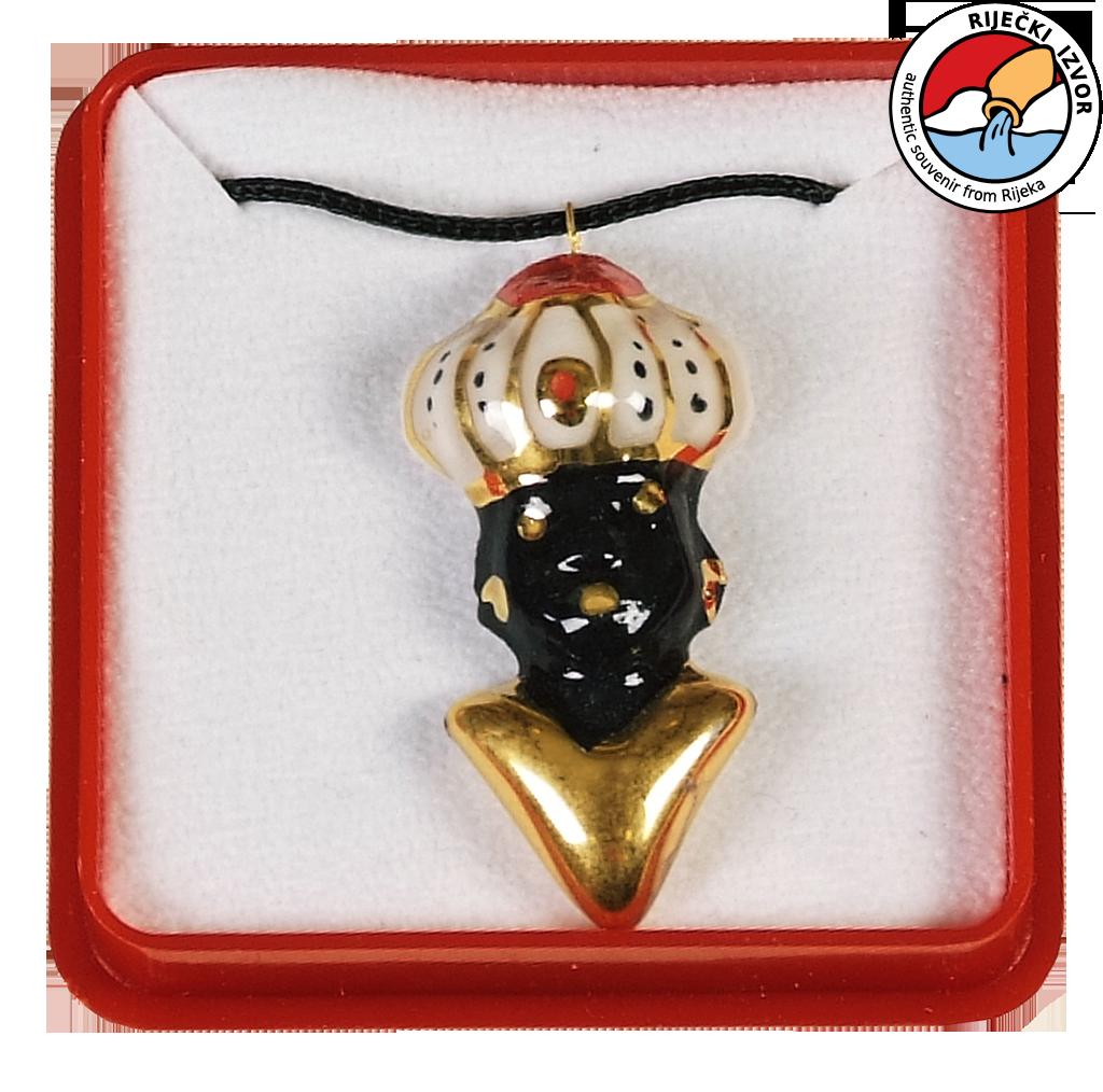 MORČIĆ - nakit, veliki privjesak