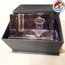 3D Morčić – kristalna prizma, držač za olovke (50x50x80mm)