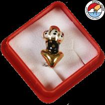 MORČIĆ - nakit, mali broš