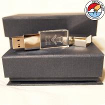 3D Morčić – USB stick drystal memory 8 ili 32 GB (10x18x30mm)