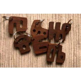 Glagoljsko slovo - drveni privjesak