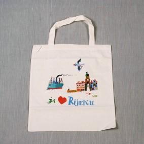 Platnena vrećica s tiskom motiva Voje Radoičića