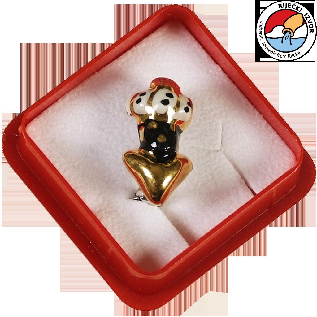 MORČIĆ – jewellery small brooch