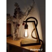 Skulptura - lampa