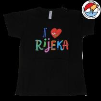 """I LOVE RIJEKA"" T-SHIRT - women's"