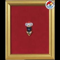 MORČIĆ—framed ceramic souvenir 13x15 cm