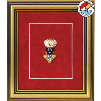 MORČIĆ—framed ceramic souvenir 22x26 cm