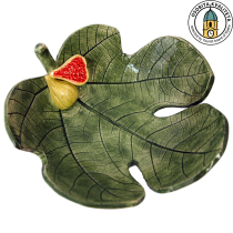 CERAMIC BOWL IN THE SHAPE OF A FIG LEAF