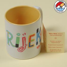 """""""I LOVE RIJEKA"""" CERAMIC CUP"""