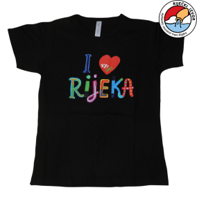"""I LOVE RIJEKA"" T-SHIRT - men's"