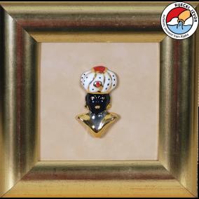 MORČIĆ—framed ceramic souvenir 18x18 cm