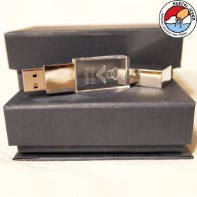 3D Morčić USB stick crystal memory 4 GB