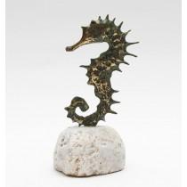 Morski konjic (na groti s plaže, bronca)